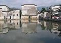 徽派民居,安徽宏村,马头墙,古村