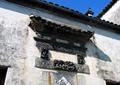 中式浮雕,中式门头,翘角