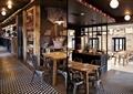 咖啡厅,餐桌椅,过道