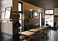 咖啡馆,餐桌椅,背景墙,装饰画