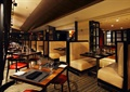 西餐厅,餐桌椅,沙发,餐具