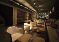 餐饮空间,沙发茶几,灯饰,形象墙