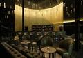 酒吧,吊灯,餐桌椅,柜台,高脚椅,酒柜,形象墙