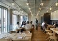 咖啡厅,桌椅,大厅,玻璃窗