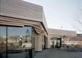 咖啡馆,建筑门头,门头,桌椅,玻璃墙