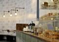 吧台,食物盒,装饰墙