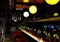 咖啡厅,灯饰,花瓶插花,沙发茶几,天花吊顶,楼梯