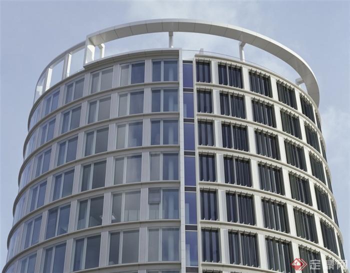 圆形建筑,办公楼