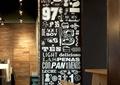 装饰墙,咖啡馆,餐饮空间,灯饰