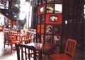 桌椅,咖啡廳,裝飾柱
