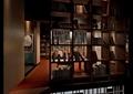 书架,桌椅,隔断,装饰画