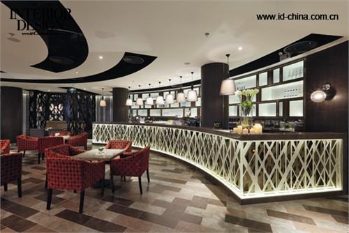 咖啡厅装饰设计图片-咖啡厅餐厅前台餐饮空间桌椅-师