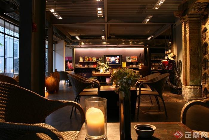 咖啡馆,吊顶