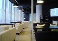 沙发茶几,吊灯,咖啡厅,餐饮空间,隔断