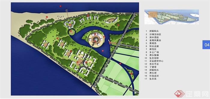 南京江心洲农业生态旅游度假区规划策划方案[原创]