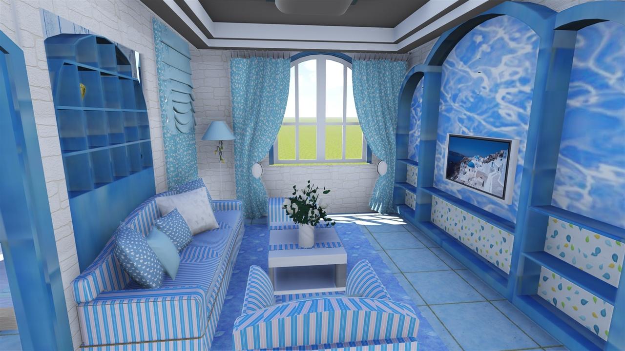 大三的时候做的一个室内建筑,时间很紧,但是模型还算详细,第一次用lumion渲染的,效果还可以,但是图片重新排版之后比较小。有室内原创模型~