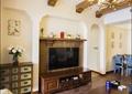 客廳,餐廳,沙發,茶幾,邊柜,電視柜,電視墻,吊燈