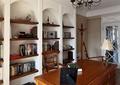 书房,书架,办公桌椅,灯饰