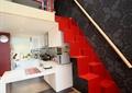 厨房,厨具,吧台,跃层,楼梯