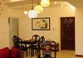 客厅,吊灯,茶几,茶具,沙发,椅子,餐桌椅
