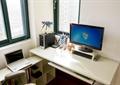 电脑,电脑桌椅,摆件