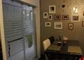 餐厅,餐桌椅,站片区,玻璃推拉门