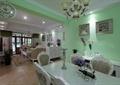 客厅,餐桌椅,灯饰,背景墙