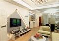 客廳,電視,電視柜,電視背景墻,沙發,茶幾
