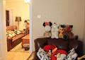 卧室,玩偶,沙发,单人沙发