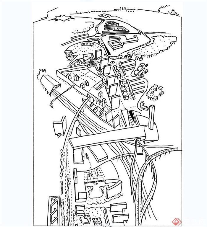 关于建筑手绘草图设计jpg图片