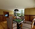 棋牌室,娱乐室,棋牌桌椅,沙发,吊灯,包间