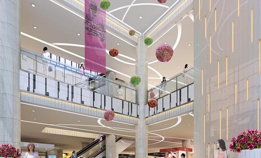 宁远铂富广场商场室内装修设计
