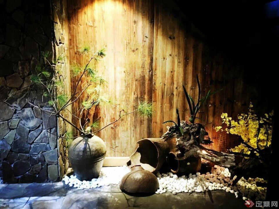 月洞门室内装修实景图