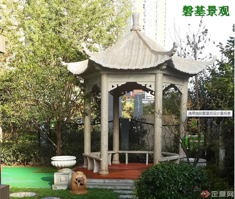 逸翠园别墅景观设计工程