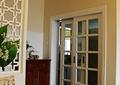 餐厅,边柜,隔断,玻璃推拉门
