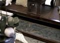 客厅,罗汉床,茶几,靠垫,茶具
