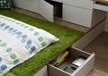 卧室,榻榻米,储物柜