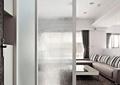 隔断,玻璃隔断,客厅,沙发