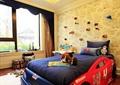 儿童房,卧室,床