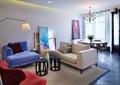 客廳,餐廳,落地燈,沙發茶幾,吊燈