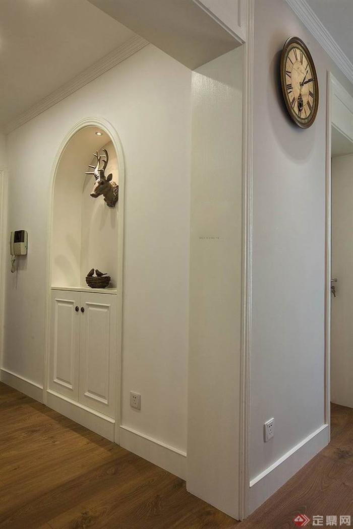 装饰墙,装饰柜,过道图片