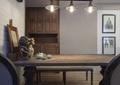餐桌椅,柜子,吊灯