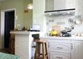 厨房,餐厅,吧台