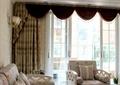 客厅,沙发,壁灯,窗幔,窗帘,靠垫