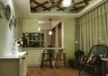 吧台,隔断柜,储物柜,椅子,吊灯,吊顶