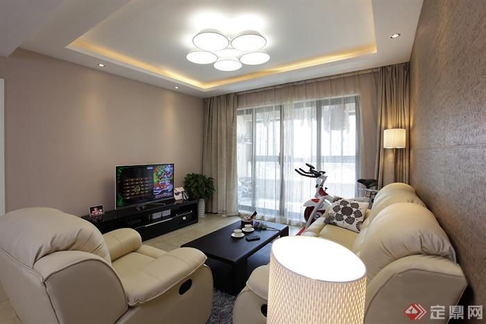 客厅,电视,电视柜,背景墙
