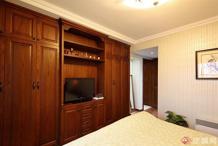 卧室,衣柜,电视柜,麤夯,门