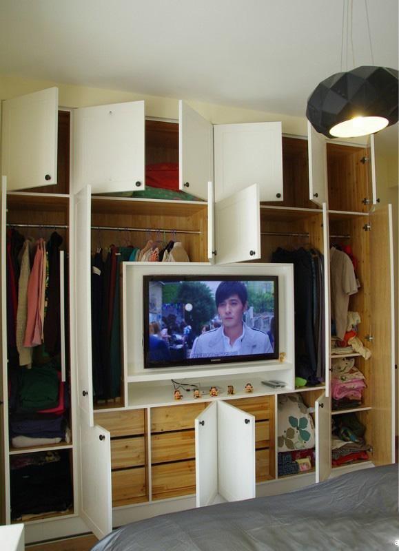 卧室,衣柜,电视柜