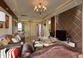 客厅,沙发,茶几,吊灯,电视,电视柜