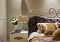 卧室,?#39184;?#26588;,台灯,电话,插花摆件,床